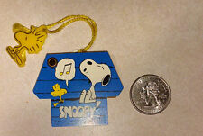 "Vintage Snoopy Dog House mini address/phone book with Woodstock ""charm"" NEW"