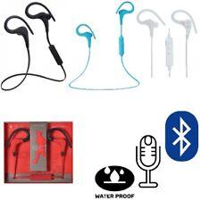 Cuffie Impermeabili Auricolari Sport Bluetooth BT-1 con Microfono per Smartphone