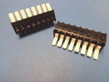 (2) T&B 2SV-08 8 POS. SCREWLESS TERMINAL BLOCK 18-22 AWG 150V/300V 1-1437671-1