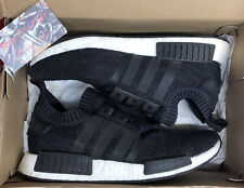 Adidas NMD_R1 Winter Wool Primeknit Sneakers Black Size 10.5 BB0679