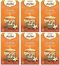 Yogi TEA REGALIZ - 17 Bolsas (Paquete de 6)