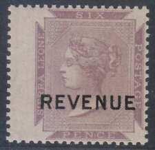 BC SIERRA LEONE 1884 REVENUES QV Forbin 3 KEY VALUE MNH VF