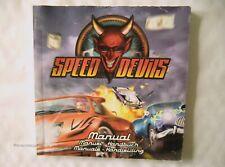 59362 Instruction Booklet - Speed Devils - Sega Dreamcast (1999) 810-0039-50
