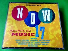 NOW 17  - THAT'S WHAT I CALL MUSIC  2 x CD   Discs  *EX/NM*