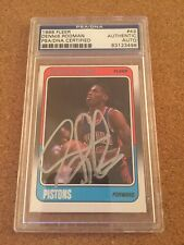 Dennis Rodman Signed Rookie Card - PSA DNA Authentic