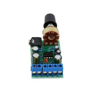 TDA2822M Carte d'amplificateur Module de carte d'ampli Audio AUX 3.5 mm durable