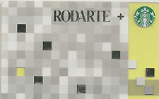 Starbucks Gift Card - Rodarte - Vintage 2012 - Collector Perfect - Limited