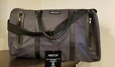 KENNETH COLE Gunmetal Gray Weekender Duffle Travel Overnight Gym Bag New 2020