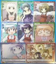 Hidamari Sketch Japanese Anime 8 Card LOT Precious Memories Collection