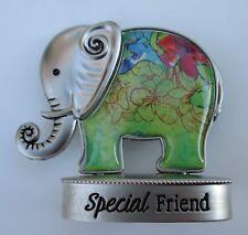 L Special friend Lucky Elephant Figurine miniature Ganz