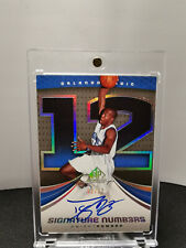 04/05 UD SP Game Used Signature Numbers Dwight Howard ed#2/12 Auto