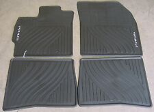 Toyota Prius 2012 - 2015 Black All Weather Rubber Floor Mats - OEM NEW!