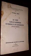 HAUTE-MARNE (52) – ARCHEOLOGIE – LE SITE GALLO-ROMAIN D'ANDILLY-EN-BASSIGNY
