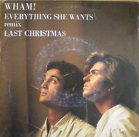WHAM 7'' Everything she wants (Remix) - HOLL