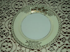 """Ransom China Japan Gold Encrusted Floral 7"""" Plate/s"""