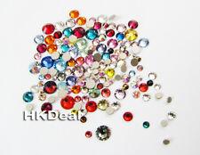 144 Mix 5 Size Mulit Color Swarovski Flatback Rhinestone Crystal Nail Art #196