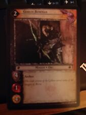 Lord of  Rings CCG Mines of Moria 2C60 Goblin Bowman FOIL TCG LOTR