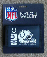 New Indianapolis Colts Football Licensed NFL Sports Wallet Nylon Trifold