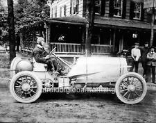 Photo. 1910s. Race Car & Driver - Vanderbilt Cup
