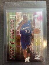 Michael Jordan Washington Wizards 2001-02 Topps Chrome Fast & Furious Card