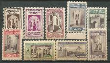 Spain Tanger Tangier XXX Rare Mint Charity Telegraph stamps High C V