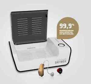 Hadeo Drybox Avantgarde 3.0 UV - Licht Trockenbox / Trockenstation für Hörgeräte