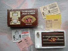 Jeu Donkey Kong 2 Game & Watch Nintendo Multi screen  JR-55 Authentic LCD* CIB