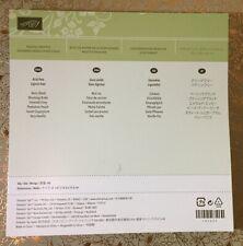 Stampin' Up! PLAYFUL PALETTE DSP - RETIRED designer series paper