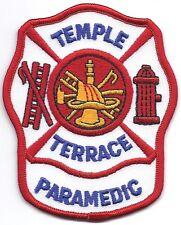 **TEMPLE TERRACE FLORIDA FIRE DEPARTMENT PARAMEDIC FIRE PATCH**