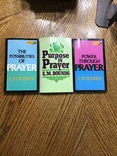 Lot Of 3 Prayer Books By E M Bound
