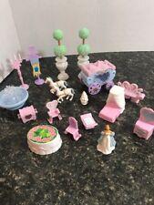 princess  Cinderella Castle  mini figures accessories horse carriage funiture