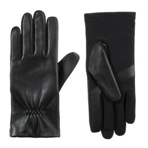 Isotoner Women's Stretch Leather Gloves Style A30357