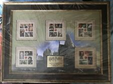 HARRY POTTER USPS 2013 RARE LE FRAMED COLLECTORS STAMP ART SET BRAND NEW!!