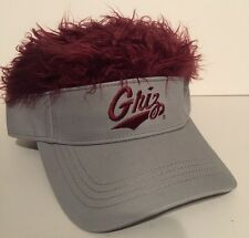 NCAA Montana Grizzles Hair Flair Ball Cap NEW Visor Adjustable