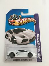 2013 Hot Wheels Lamborghini Aventador LP 700-4 HW Showroom White