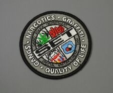 Chino CA Police Special Enforcement Team Patch ++ Gangs Narco Graffiti