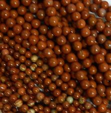 Red Jasper 8mm Natural Gemstone Rondelle Beads 15 Inch Loose