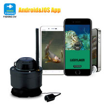 LUCKY Wifi Underwater Fishing Camera 80m Wireless Fish Finder FF3309 for IOS