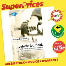 ZIONS SYSTEMS◉VLER◉POCKET SIZE VEHICLE LOG RECORD BOOK & EXPENSES◉64 PAGES◉CAR◉