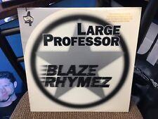 "Large Professor Blaze Rhymez / Back To Back 12"" single Matador 2001 VG+"