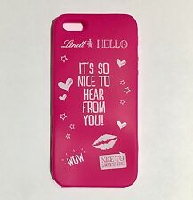 Cover iPhone 5S 5C 5 Cover Lindt Fucsia Per Smartphone 100% Silicone Lindt Hello