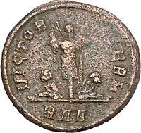 PROBUS 282AD Authentic Ancient Roman Coin Trophy  Tropaion i41156