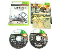 The Witcher 2: Assassins of Kings Enhanced Edition Xbox 360 Complete with Map
