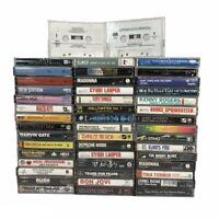 Lot of 47 Cassette Tape Lot Rap Rock 80s 90s Pop R&B Hip Hop Pink Floyd Rare