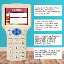 125 KHz Frequenz 13,56 MHz IC-Karte ID Tag Writer Reader Kopierer RFID-Duplikato