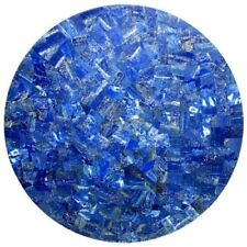 """12"""" Marble Top Coffee Table Lapis Lazuli Table Top Pietra Dura Christmas Gifts"""