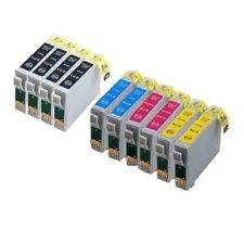 10x für Epson Stylus SX218 SX100 SX200 DX4400 DX4050 DX7400 DX7450 Tinte Patrone