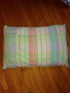 Lauren Ralph Lauren LRL Plaid University Shirting Decorative Pillow Room Decor