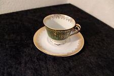 Mocca Espresso Tasse v. Porcelaine Ternet Limoges Authentique um 1930 handbemalt
