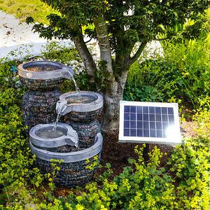 Solaire Puit de Jardin Fontaine Jeux D'Eau Jardin Fontaine Solaire Esotec 101311